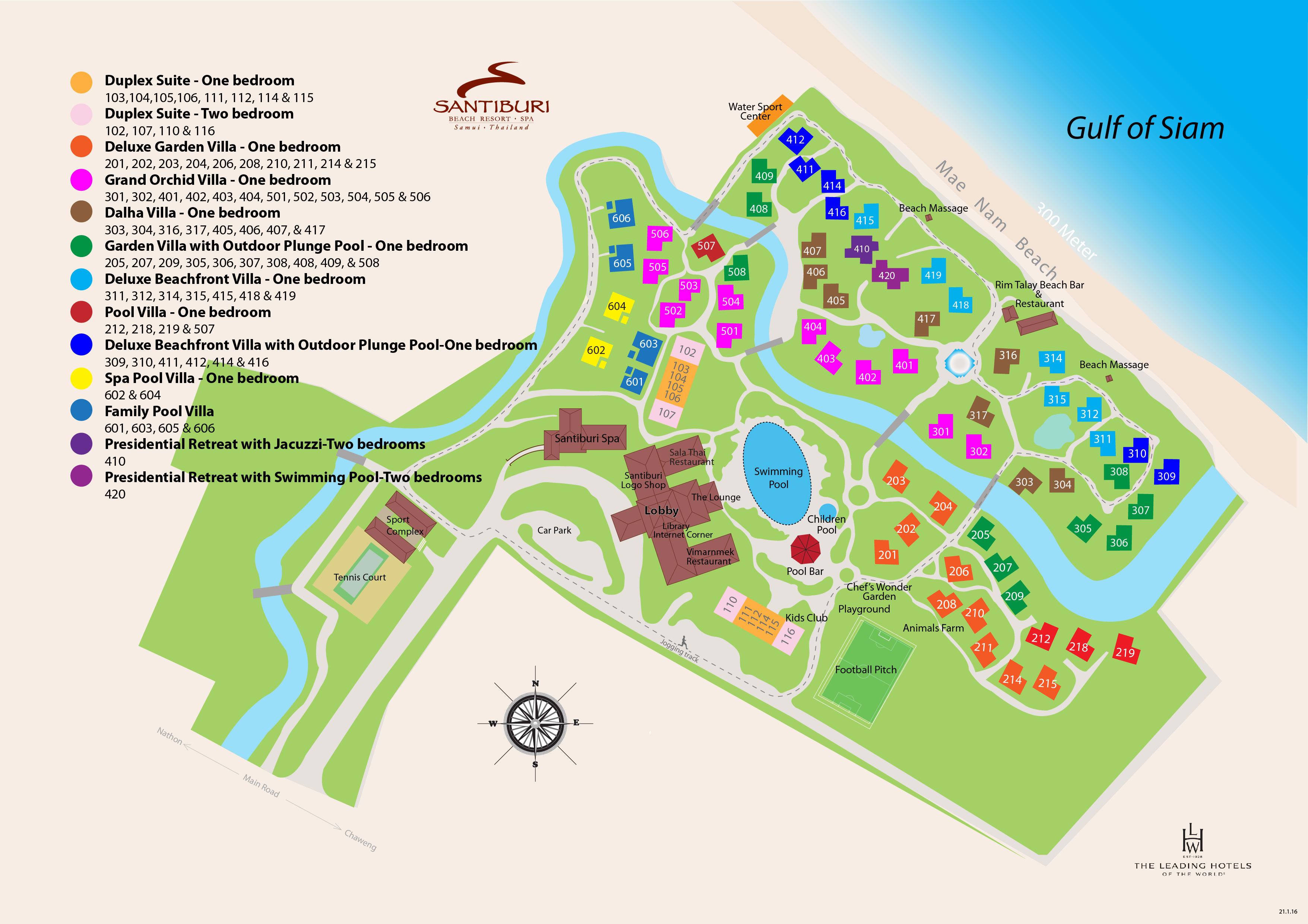 Hotel Santiburi Beach Resort And Spa